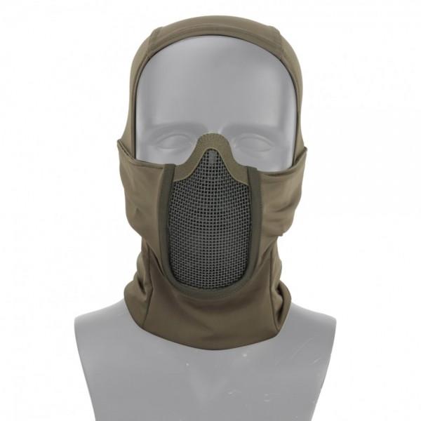 """Wosport Gittermaske """"Shadow Figter"""" olive"""