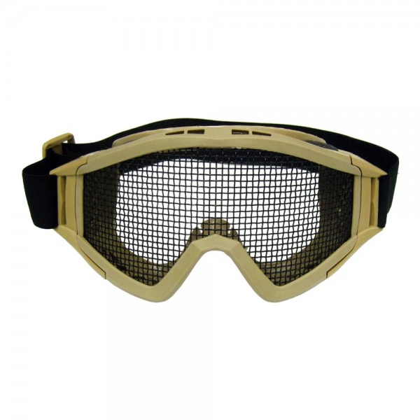 Steel Mesh Mask Tan (Royal)