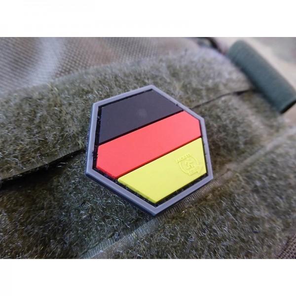 JTG Deutschland Flagge Hexagon Patch