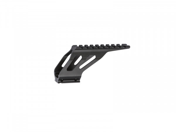 SP-01 SHADOW cnc Rail mount, black (ASG)