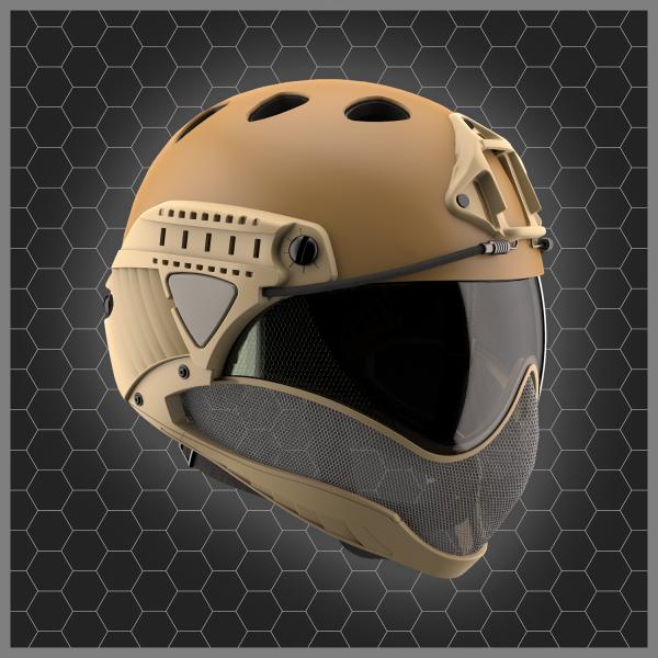 WARQ Helmet TAN