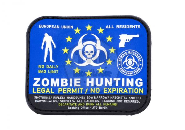 Zombie Hunter Rubber Patch Color (JTG)