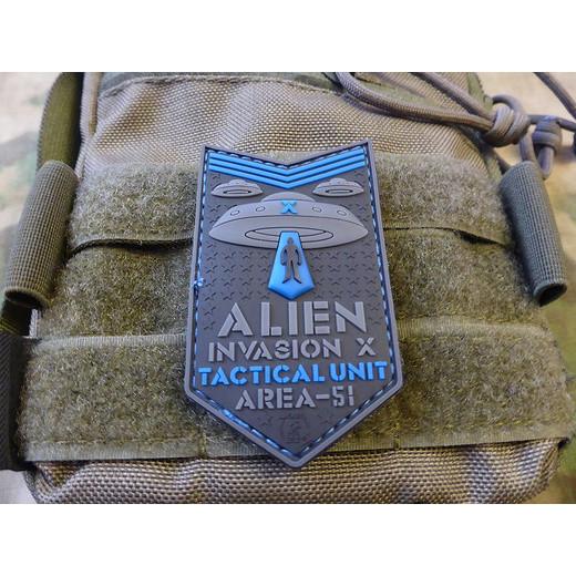 JTG ALIEN INVASION X-Files, AREA-51 blue
