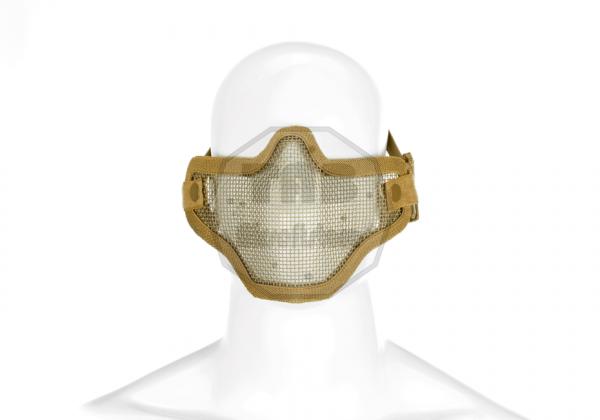 Steel Half Face Mask Tan (Invader Gear)