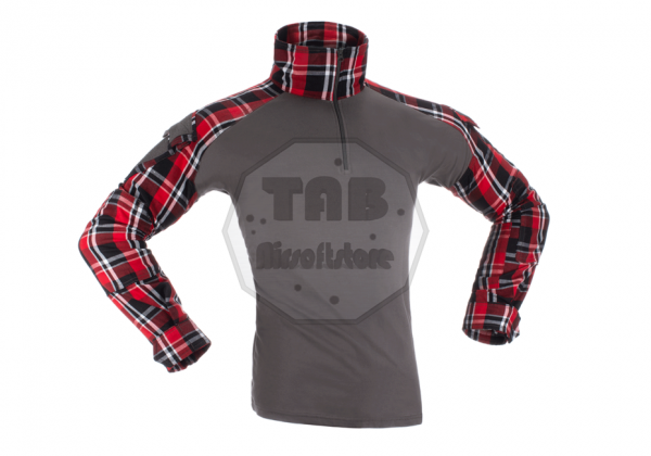Flannel Combat Shirt Red (Invader Gear)