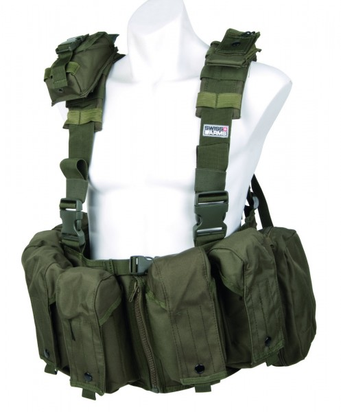 Swiss Arms Weste Tactical OD