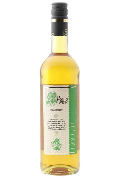 Flasche Hollermet / Honigwein mit Holunderblüte, 10% vol. / 750 ml