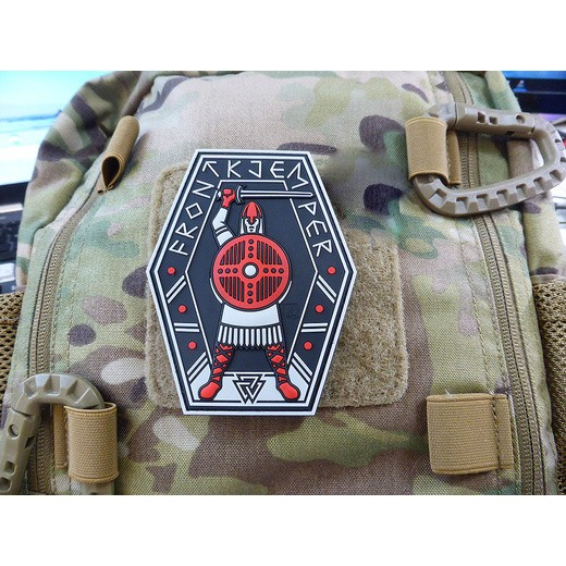 JTG FrontKjemper Patch, red blackops