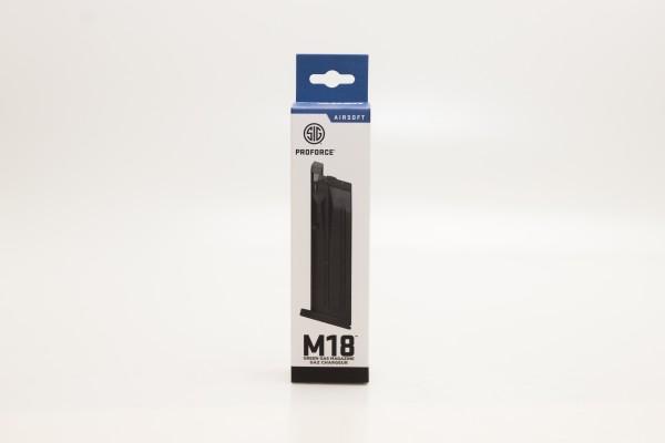 Sig Sauer Ersatzmagazin M17/P320 gas - schwarz