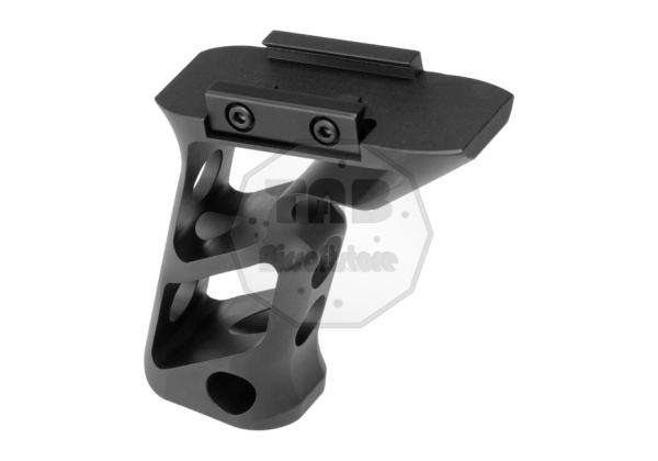 CNC Picantinny Long Angled Grip Black (Metall)