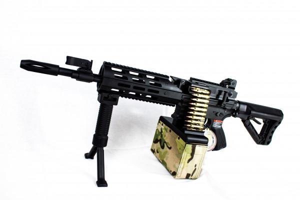 CM16 LMG S-AEG Black (G&G)