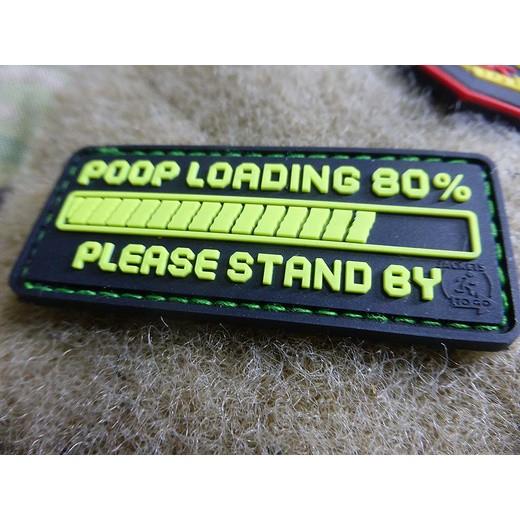 Poop Loading Patch, fragrant green (JGT)