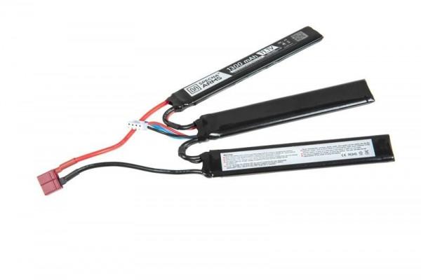LiPo 11,1V 1300mAh 15/30C Battery - Triple Stick - T-Connect