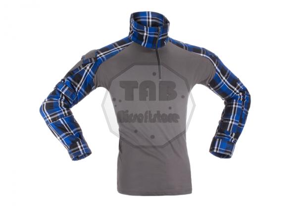 Flannel Combat Shirt Blue (Invader Gear)