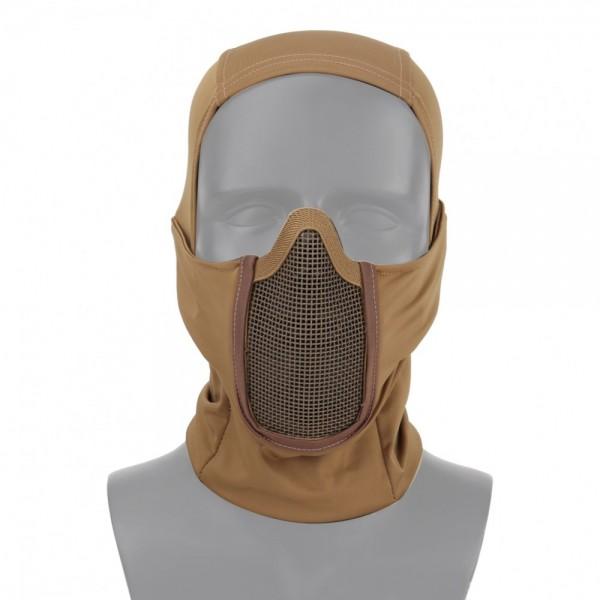 """Wosport Gittermaske """"Shadow Figter"""" tan"""
