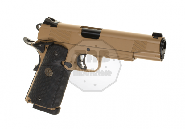 M1911 MEU Full Metal Tan Co2 (KJ Works)