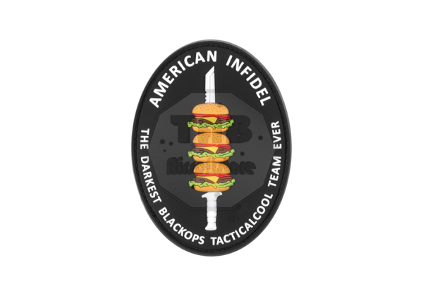 American Infidel Rubber Patch Color (JTG)