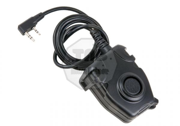 PTT Kenwood Connector Black (Z-Tactical)