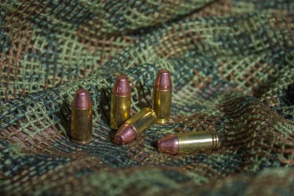 5x Dekopatrone 9x19mm Luger