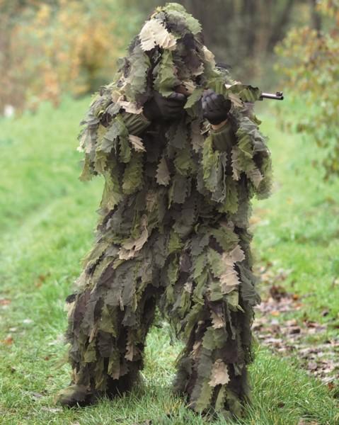 Ghillie Suit Oak leaf 3D 3PC. W/L
