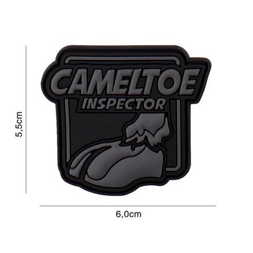 Cameltoe Inspector Patch, black (JTG)