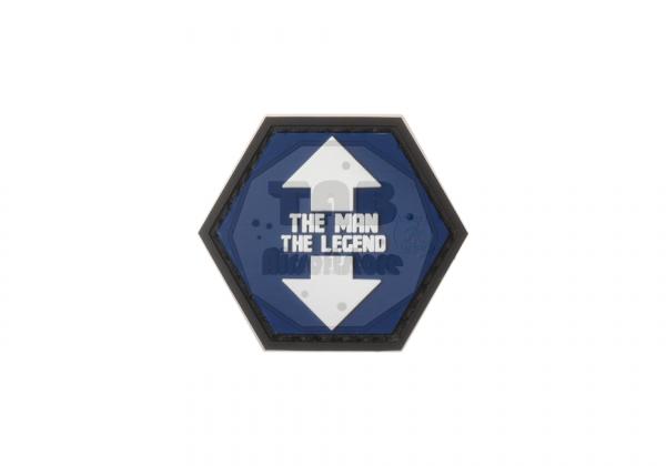 The Man The Legend Rubber Patch color (JTG)