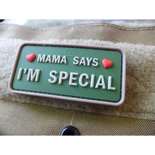 JTG Mama says - I´m Special Patch, Multicam