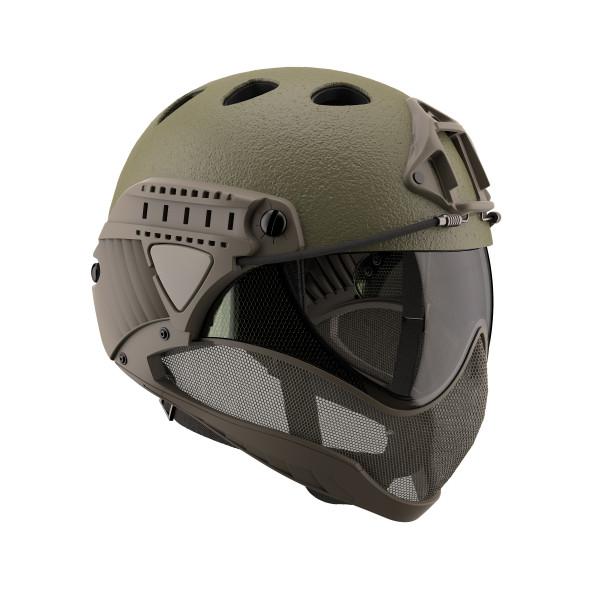 WARQ Helmet Raptor OD Green