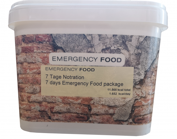 Emergency Food 7-Tage Notration
