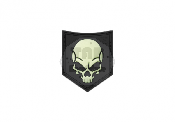 SOF Skull Rubber Patch Glow in the Dark (JTG)