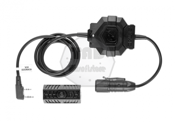 zTac Wireless PTT Kenwood Connector Black (Z-Tactical)