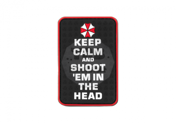 Keep Calm and Shoot Rubber Patch Color (JTG)