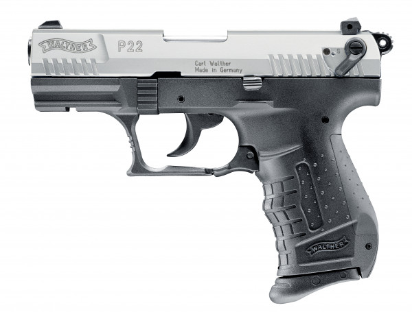 Walther P22 P.A.K. 9mm - bicolour