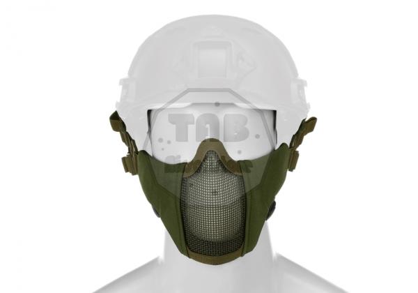 Mk.II Steel Half Face Mask FAST Version OD (Invader Gear)