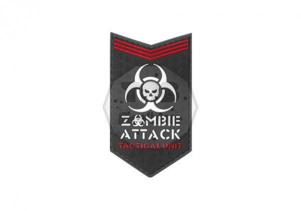 Zombie Attack Rubber Patch SWAT (JTG)