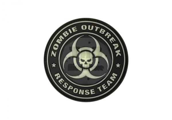 Zombie Outbreak Rubber Patch Glow in the Dark (JTG)