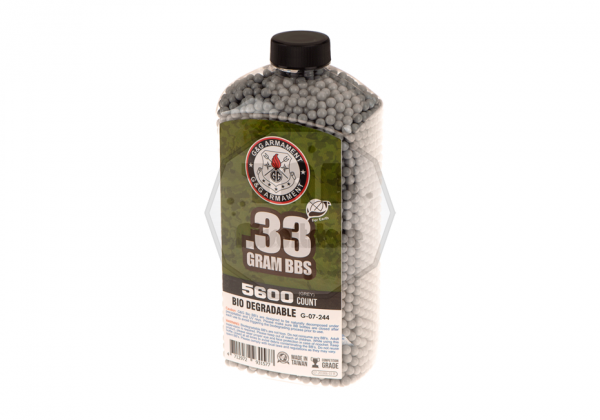 0.33g Bio Precision 5600rds Grey (G&G)