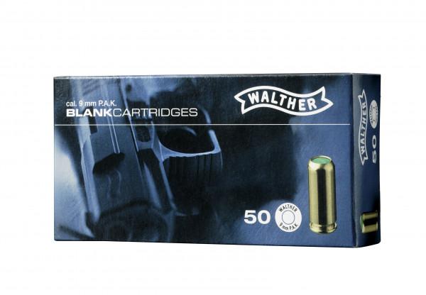 Walther Platzpatronen 9mm P.A.K. - 50 Schuss
