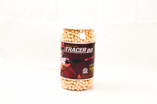 0.20g Tracer BB 2400rds Red (G&G)
