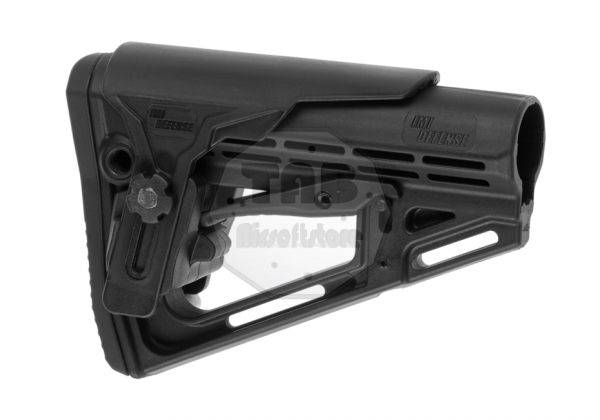 TS-1 Tactical Stock Mil Spec with Cheek Rest Black (IMI Defense)
