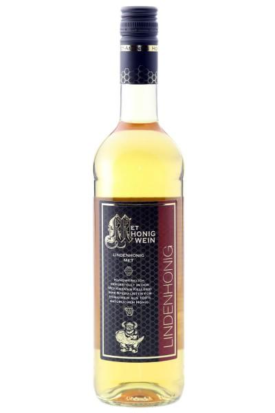 Flasche Lindenblütenhonig Met / MET Amensis Honigwein aus Lindenblütenhonig, 11 % vol. / 750 ml