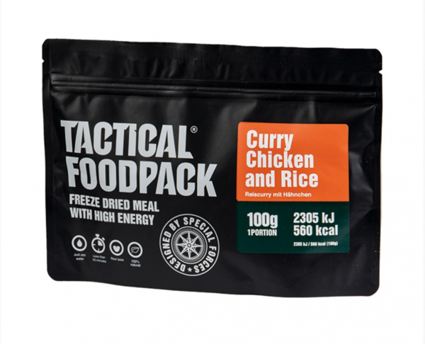 Tactical Foodpack - Curry Chicken and Rice