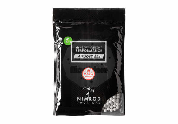 0.43g Bio BB Professional Performance 1000rds white (Nimrod)