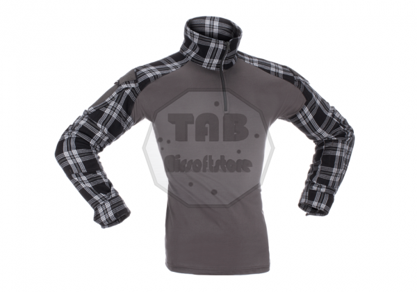 Flannel Combat Shirt black (Invader Gear)