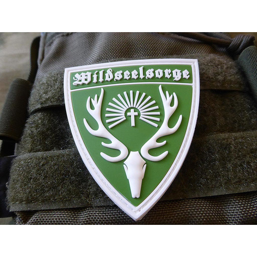 JTG Wildseelsorge patch / JTG 3D Rubber patch