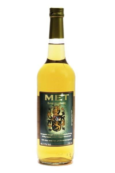 Flasche Eukalyptushonig Met / MET Amensis Honigwein aus Eukalyptushonig, 11% vol. / 700 ml