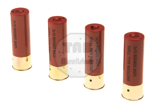Shells M3 Shotgun 4pcs 30rds (ASG)