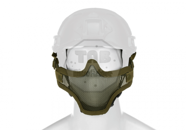 Steel Half Face Mask FAST Version OD (Invader Gear)