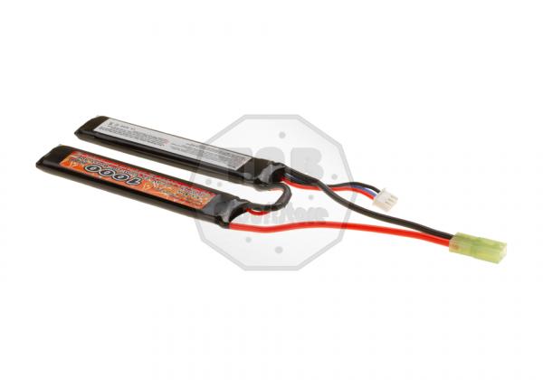 LiPo 7.4V 1000mAh 20C Stock Twin Type (VB Power)