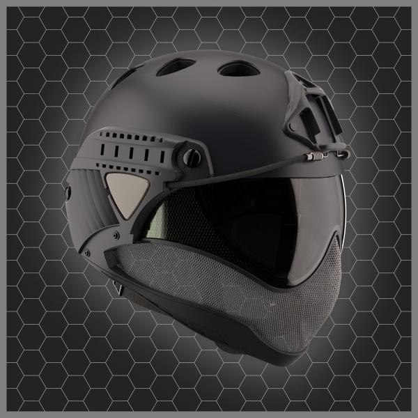 WARQ Helmet Black